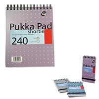 Pukka A5 Shortie Notebook Ruled Pk3