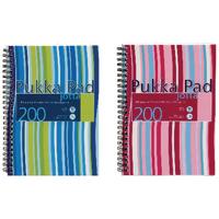 Pukka A5 Jotta Wirebound Notebook Pk3