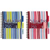Pukka A5 Hardback Project Book Pk3