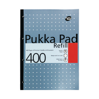Pukka A4 Refill Pad 4 Hole Punched Pk5