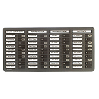 Indesign Grey 40 Name In/Out Board
