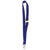 Announce Textile Necklace Blue Pk10