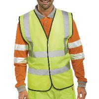 Hi-Viz Vest S/Yellow EN ISO 20471 XL
