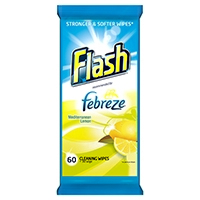 Flash St/Weave Lemon Cleaning Wipes Pk60