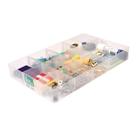 StoreStack Tray Small Clear