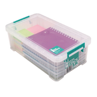 StoreStack 5.8 Ltr Clear Storage Box