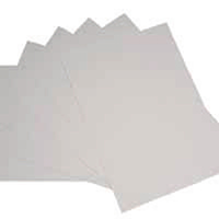 White A4 Office Card 205gsm Pk20