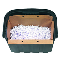 Rexel Recycling Shredder Waste Bags Pk20