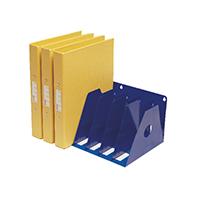 Rotadex 7-Sctn A4 Ring Binder Rack A4R/7