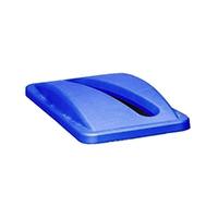 Rubbermaid Slim Jim Bin Lid Paper Blue