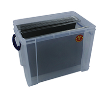 Really Useful 19L Box With Lid Clear