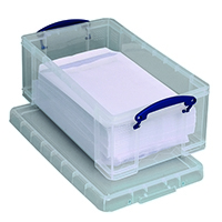 Really Useful Clear 12L Storage Box 12C