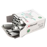 Rexel No.10 / 5mm Metal Staples Pk5000