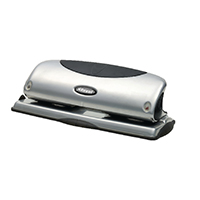 Rexel 4-Hole Punch Silver P425 2100753