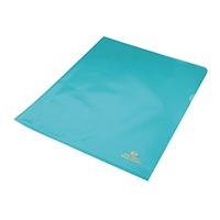 Rexel Nyrex Cut Blue A4 Flush Folder P25