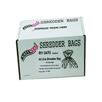 Safewrap Shredder 40 Litre Bags Pk100