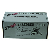 Safewrap Shredder 100 Litre Bags Pk50