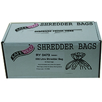 Safewrap Shredder 200 Litre Bags Pk50
