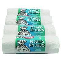 Safewrap Swing Bin Liner 20/Roll 441