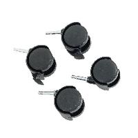Castor Set for HB-4068 Black 369048 Pk4