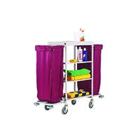 Maid Service Trolley Burgundy Bag 306769