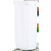 Maid Service 10581 Wht Trolley Nylon Bag