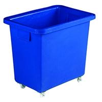 Swivel Blue 610X405X560mm Bottle Skip