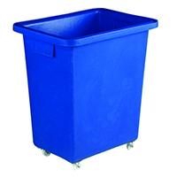 Swivel Blue 580X410X700mm Bottle Skip