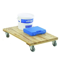 Timber Dolly 680X450X140mm Brown 329330