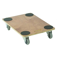 Brown Plywood Dolly 680X450X115mm 329331