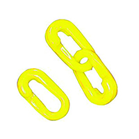Yellow Connecting Links 8mm Joint Pk10