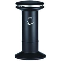 Hi/Cap Smoking/Ash Stand Silver 370785