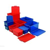 Jumbo Storemaster Crate/Lid Red 374345