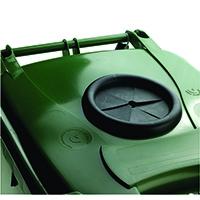 Green Wheelie Bin 140L /Bottle Lid Lock