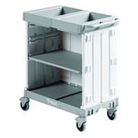 Compact Maid Trolley 900 Grey 381650
