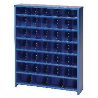 Economy Pigeon Hole 40 Bin Blue 383108