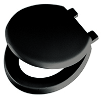 Black Emerald Toilet Seat and Lid