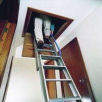 Handrail for Aluminium Loft Ladder