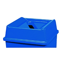 Top For Paper Recycling Bin Blue 324127