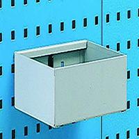 Plain 255mm Grey Metal Tray Shelf 306994
