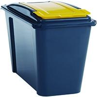 VFM 25 Ltr Yellow Recycling Bin/Lid