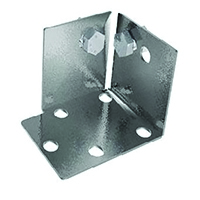 Grey Steel Foot Plates Shelving/No Bolts