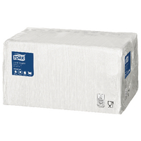 Tork Lunch Napkin 1 Ply White 478744