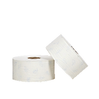 Tork White Jumbo Toilet Roll Pk6