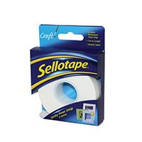 Sellotape Sticky Fixer Strip 25mm 484330