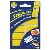 Sellotape Removable Sticky Fixers Pk10