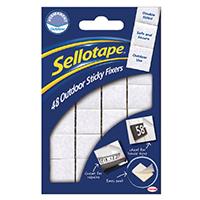 Sellotape Sticky Fixers Outdoor Pk48