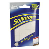 Sellotape Sticky Loop Pads Pk96
