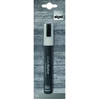Sigel White 50 Chisel Tip Chalk Marker