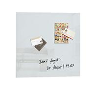 Sigel Artv White 480x480 Mag Glass Board
